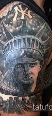 фото ТАТУ СТАТУЯ СВОБОДЫ (Tattoo) (значение) – пример рисунка – 040 tatufoto.com