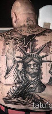 фото ТАТУ СТАТУЯ СВОБОДЫ (Tattoo) (значение) – пример рисунка – 041 tatufoto.com