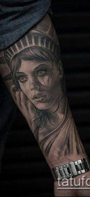 фото ТАТУ СТАТУЯ СВОБОДЫ (Tattoo) (значение) – пример рисунка – 042 tatufoto.com