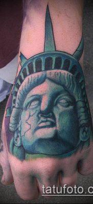 фото ТАТУ СТАТУЯ СВОБОДЫ (Tattoo) (значение) – пример рисунка – 043 tatufoto.com