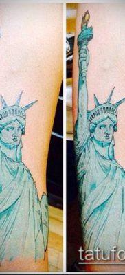фото ТАТУ СТАТУЯ СВОБОДЫ (Tattoo) (значение) – пример рисунка – 045 tatufoto.com