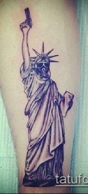 фото ТАТУ СТАТУЯ СВОБОДЫ (Tattoo) (значение) – пример рисунка – 048 tatufoto.com