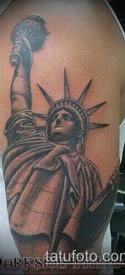 фото ТАТУ СТАТУЯ СВОБОДЫ (Tattoo) (значение) – пример рисунка – 049 tatufoto.com