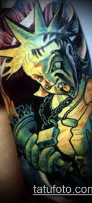 фото ТАТУ СТАТУЯ СВОБОДЫ (Tattoo) (значение) – пример рисунка – 051 tatufoto.com