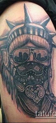 фото ТАТУ СТАТУЯ СВОБОДЫ (Tattoo) (значение) – пример рисунка – 053 tatufoto.com