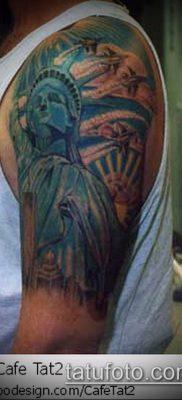 фото ТАТУ СТАТУЯ СВОБОДЫ (Tattoo) (значение) – пример рисунка – 054 tatufoto.com