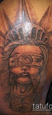 фото ТАТУ СТАТУЯ СВОБОДЫ (Tattoo) (значение) – пример рисунка – 058 tatufoto.com
