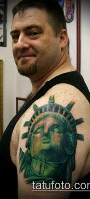 фото ТАТУ СТАТУЯ СВОБОДЫ (Tattoo) (значение) – пример рисунка – 060 tatufoto.com