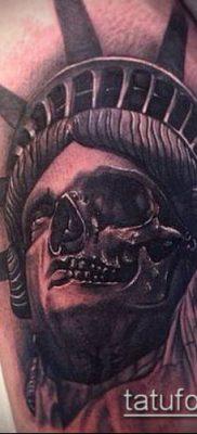 фото ТАТУ СТАТУЯ СВОБОДЫ (Tattoo) (значение) – пример рисунка – 064 tatufoto.com