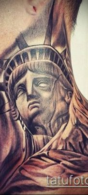 фото ТАТУ СТАТУЯ СВОБОДЫ (Tattoo) (значение) – пример рисунка – 072 tatufoto.com