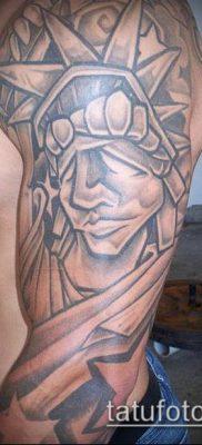 фото ТАТУ СТАТУЯ СВОБОДЫ (Tattoo) (значение) – пример рисунка – 073 tatufoto.com