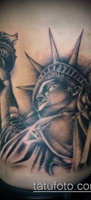 фото ТАТУ СТАТУЯ СВОБОДЫ (Tattoo) (значение) – пример рисунка – 074 tatufoto.com