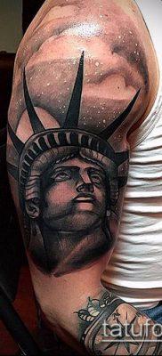 фото ТАТУ СТАТУЯ СВОБОДЫ (Tattoo) (значение) – пример рисунка – 078 tatufoto.com
