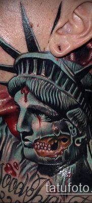 фото ТАТУ СТАТУЯ СВОБОДЫ (Tattoo) (значение) – пример рисунка – 079 tatufoto.com