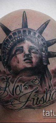 фото ТАТУ СТАТУЯ СВОБОДЫ (Tattoo) (значение) – пример рисунка – 085 tatufoto.com