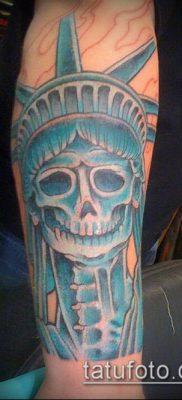 фото ТАТУ СТАТУЯ СВОБОДЫ (Tattoo) (значение) – пример рисунка – 087 tatufoto.com