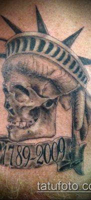 фото ТАТУ СТАТУЯ СВОБОДЫ (Tattoo) (значение) – пример рисунка – 088 tatufoto.com