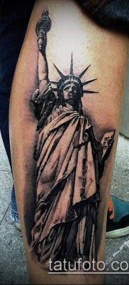 фото ТАТУ СТАТУЯ СВОБОДЫ (Tattoo) (значение) – пример рисунка – 091 tatufoto.com