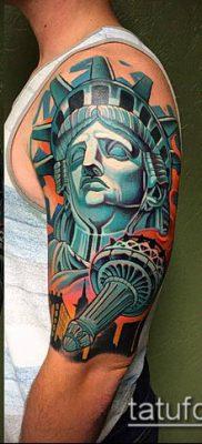 фото ТАТУ СТАТУЯ СВОБОДЫ (Tattoo) (значение) – пример рисунка – 092 tatufoto.com