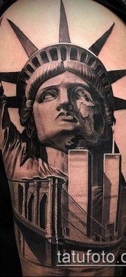 фото ТАТУ СТАТУЯ СВОБОДЫ (Tattoo) (значение) – пример рисунка – 093 tatufoto.com
