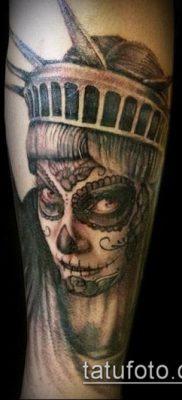 фото ТАТУ СТАТУЯ СВОБОДЫ (Tattoo) (значение) – пример рисунка – 094 tatufoto.com