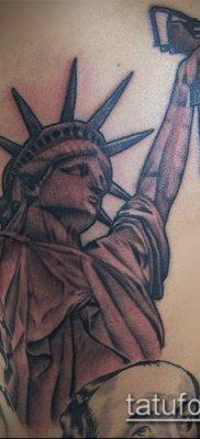 фото ТАТУ СТАТУЯ СВОБОДЫ (Tattoo) (значение) – пример рисунка – 096 tatufoto.com