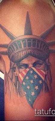 фото ТАТУ СТАТУЯ СВОБОДЫ (Tattoo) (значение) – пример рисунка – 097 tatufoto.com