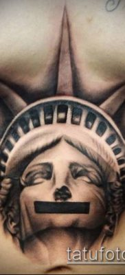 Tattoo Statue Of Liberty Black And Grey Statue Of Liberty Tattoo