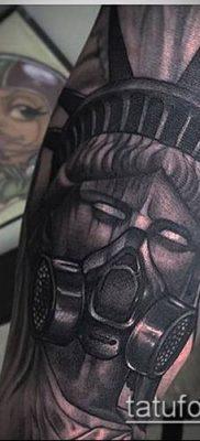 фото ТАТУ СТАТУЯ СВОБОДЫ (Tattoo) (значение) – пример рисунка – 100 tatufoto.com