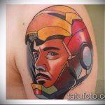 ЦВЕТНЫЕ ТАТУИРОВКИ №217 - классный вариант рисунка, который успешно можно использовать для переработки и нанесения как цветные татуировки на руку