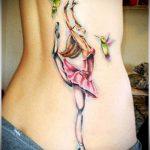 ЦВЕТНЫЕ ТАТУИРОВКИ №205 - интересный вариант рисунка, который легко можно использовать для переделки и нанесения как цветные татуировки на груди