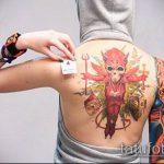 ЦВЕТНЫЕ ТАТУИРОВКИ №794 - эксклюзивный вариант рисунка, который легко можно использовать для доработки и нанесения как цветная татуировка на запястье