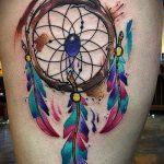 ЦВЕТНЫЕ ТАТУИРОВКИ №109 - классный вариант рисунка, который хорошо можно использовать для преобразования и нанесения как цветные татуировки