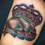 ЦВЕТНЫЕ ТАТУИРОВКИ №112 - эксклюзивный вариант рисунка, который успешно можно использовать для преобразования и нанесения как цветные татуировки на руку