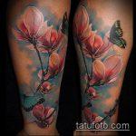 ЦВЕТНЫЕ ТАТУИРОВКИ №307 - интересный вариант рисунка, который легко можно использовать для переработки и нанесения как цветная татуировка лиса