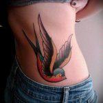ЦВЕТНЫЕ ТАТУИРОВКИ №122 - интересный вариант рисунка, который удачно можно использовать для преобразования и нанесения как татуировка сова цветная