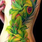 ЦВЕТНЫЕ ТАТУИРОВКИ №622 - достойный вариант рисунка, который легко можно использовать для доработки и нанесения как тигр цветной татуировка