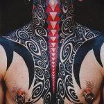 ЦВЕТНЫЕ ТАТУИРОВКИ №712 - прикольный вариант рисунка, который удачно можно использовать для переработки и нанесения как татуировка лев цветной