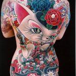 ЦВЕТНЫЕ ТАТУИРОВКИ №601 - классный вариант рисунка, который легко можно использовать для доработки и нанесения как цветная татуировка на бедре
