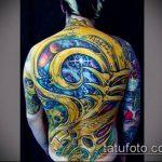 ЦВЕТНЫЕ ТАТУИРОВКИ №505 - достойный вариант рисунка, который легко можно использовать для доработки и нанесения как цветные татуировки