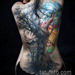 ЦВЕТНЫЕ ТАТУИРОВКИ №981 - эксклюзивный вариант рисунка, который легко можно использовать для переработки и нанесения как цветные татуировки бабочек
