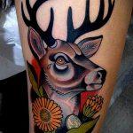 ЦВЕТНЫЕ ТАТУИРОВКИ №149 - крутой вариант рисунка, который легко можно использовать для переделки и нанесения как цветные татуировки на руку