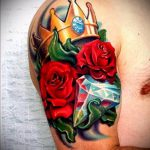 ЦВЕТНЫЕ ТАТУИРОВКИ №561 - классный вариант рисунка, который легко можно использовать для доработки и нанесения как цветная татуировка лиса