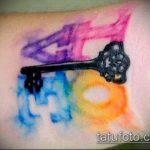 ЦВЕТНЫЕ ТАТУИРОВКИ №322 - интересный вариант рисунка, который успешно можно использовать для переработки и нанесения как татуировка роза цветная
