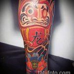 ЦВЕТНЫЕ ТАТУИРОВКИ №793 - достойный вариант рисунка, который удачно можно использовать для переделки и нанесения как цветные татуировки на теле