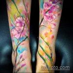 ЦВЕТНЫЕ ТАТУИРОВКИ №737 - интересный вариант рисунка, который легко можно использовать для доработки и нанесения как татуировка лев цветной