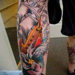 ЦВЕТНЫЕ ТАТУИРОВКИ №904 - классный вариант рисунка, который успешно можно использовать для преобразования и нанесения как татуировка сова цветная