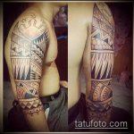 ЭТНИЧЕСКИЕ ТАТУИРОВКИ №499 - интересный вариант рисунка, который легко можно использовать для переделки и нанесения как этнические татуировки на спине