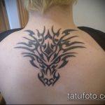 ЭТНИЧЕСКИЕ ТАТУИРОВКИ №970 - уникальный вариант рисунка, который легко можно использовать для переделки и нанесения как этнические татуировки женские