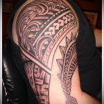 ЭТНИЧЕСКИЕ ТАТУИРОВКИ №145 - уникальный вариант рисунка, который хорошо можно использовать для переделки и нанесения как этнические татуировки викингов